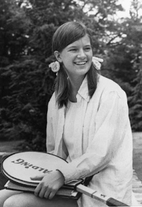 Sally Ride tennis