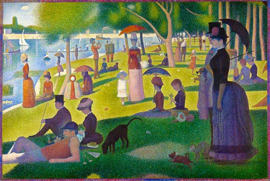 Georges Seurat: A Sunday Afternoon on the Island of Grande Jatte, 1884