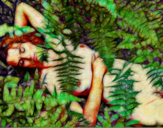 asleep fractalius 11x14_2