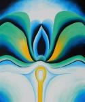O'Keeffe: Blue Flowers