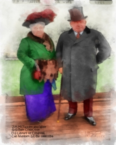 mcFadden & wife 3 aquarell