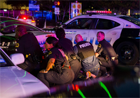 cops under fire