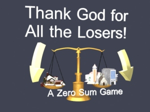 Thank god for losers