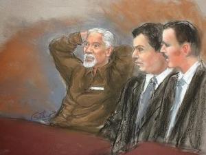einhorn trial sketch