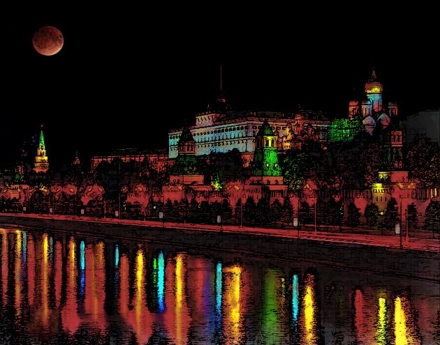 Kremlin full moon2