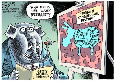 gerrymander cartoon