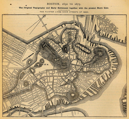 old boston map